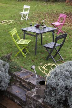 BASIC sedia pieghevole colorata
