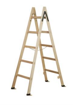 Scala Standard in legno 5 pioli