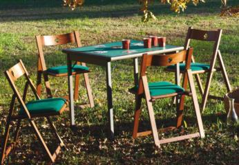 Tavolo da gioco pieghevole TORNEO