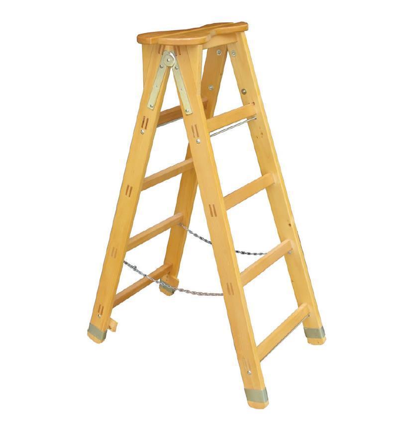 scala Trevigiana in legno per uso professionale di Del Fabbro