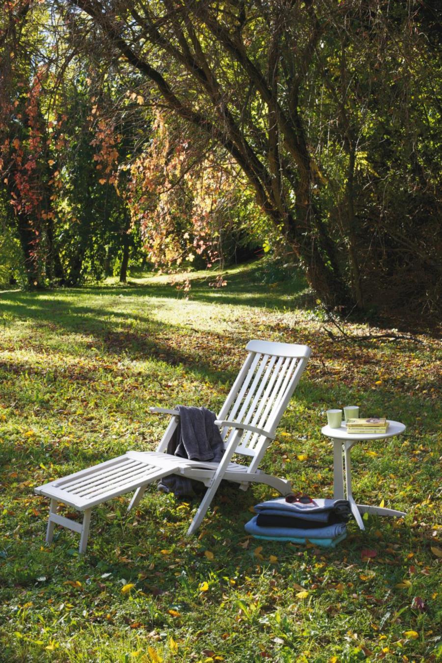 chaise longue LIDO di Del Fabbro