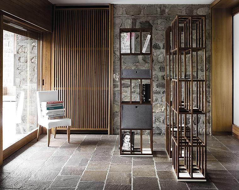 libreria in legno Telar di Del Fabbro