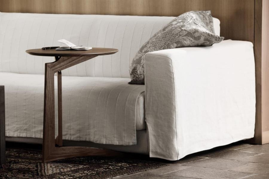 tavolino pieghevole in legno pleilu di Del Fabbro