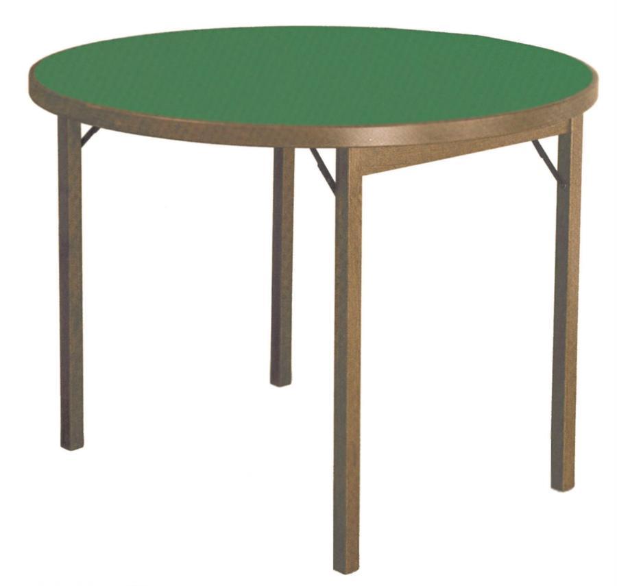 tavolo da gioco tondo MOON di Del Fabbro